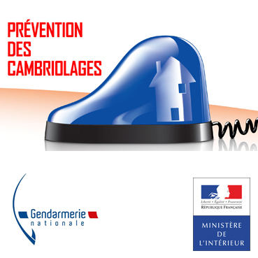 prévention cambriolages