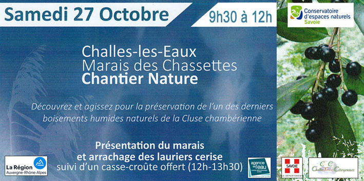 chantier nature chassettes